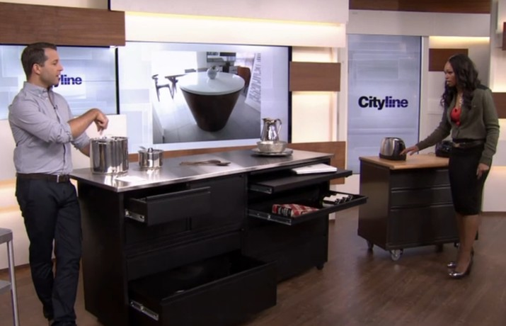 Kitcken Islands Featured on Cityline