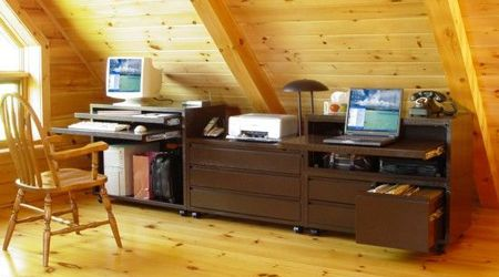 Modular Home Office Furniture by Can-Am