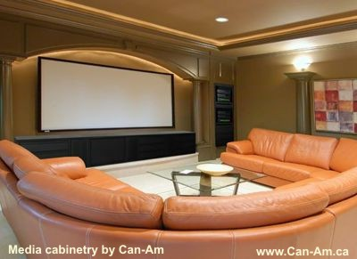 Design Home Theater on Home Theater Furniture And Cabinetry